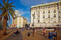 Maroc, Casablanca, place des Nations Unis, Hotel Excelsior// Morocco, Casablanca, United Nation (Nation Unis) square, Excelsior hotel