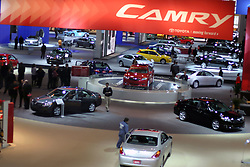 09 February 2006:  General shot of Floor.  Looking over the Toyota display.......Chicago Automobile Trade Association, Chicago Auto Show, McCormick Place, Chicago IL
