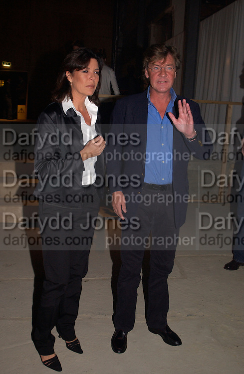 Princess Caroline of Monaco and Ernst of Hanover, Exhibition of furniture by Rolf Sachs,  Louise Guinness Gallery, 250 Brompton Rd. ONE TIME USE ONLY - DO NOT ARCHIVE  © Copyright Photograph by Dafydd Jones 66 Stockwell Park Rd. London SW9 0DA Tel 020 7733 0108 www.dafjones.com