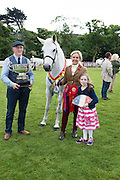 Supreme Champion owned by Tomas and Fiona Grimes and daughter Blathnaid from Ballinrobe at the 93rd annual Connemara Pony show in Clifden Co. Galway  Photo:Andrew Downes, XPOSURE