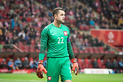 November 10, 2017 - Warsaw, Poland - Lukasz Fabianski during the international friendly soccer match between Poland and Uruguay at the PGE National Stadium in Warsaw, Poland on 10 November 2017  (Credit Image: © Mateusz Wlodarczyk/NurPhoto via ZUMA Press)