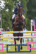 Arpege Du Mancel ridden by Astier Nicolas in the Equi-Trek CCI-4* Show Jumping during the Bramham International Horse Trials 2019 at Bramham Park, Bramham, United Kingdom on 9 June 2019.