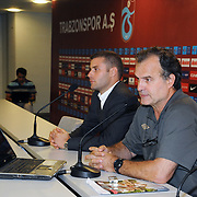 Athletic Bilbao's head coach Marcelo BIESLA during their press conference in Istanbul, Turkey, 24 August 2011. Athletic Bilbao will face Trabzonspor in the UEFA Europa League play off second leg soccer match on The UEFA Emergency Panel has decided to replace Fenerbahce SK with Trabzonspor AS after the Turkish FA withdrew Fenerbahce from the 2011/12 UEFA Champions League. 25 August.  Photo by TURKPIX