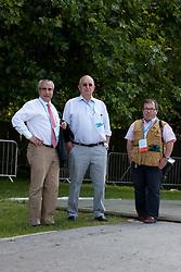 Ingmar Devos (BEL) Secretary General of the FEI, Jacky Buchmann (BEL) President of the Belgian Equestrian Federation, Mark Wentein (BEL) President of the Vlaamse Liga Paardensport<br /> CIC2* Greenwich Park Eventing Invitational<br /> Olympic Test Event - London 2011<br /> © Dirk Caremans