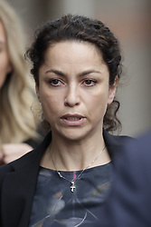 © Licensed to London News Pictures. 07/06/2016. Croydon, UK. Former Chelsea FC team doctor EVA CARNEIRO arrives at Croydon Employment Tribunal with her husband JASON DE CARTERET for a second day of a hearing claiming constructive dismissal against Chelsea football club and Jose Mourinho was manager. Photo credit: Peter Macdiarmid/LNP