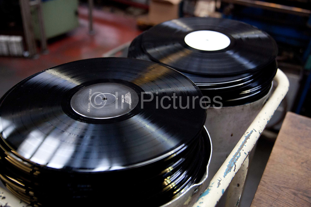 Stacks of The Vinyl Factory is the old EMI vinyl works in Uxbridge, Middlesex, producing limited edition vinyls of new releases, plus re-presses of classics. They also act as a distributor of vinyl releases.