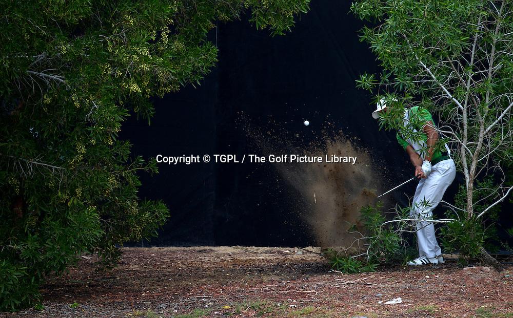 Martin KAYMER (GER) during first round DP World Tour Championship 2013,Jemeirah Golf Estates, Dubai,UAE.