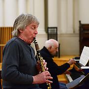 Stoltzman - Wyner Recording Session, April 2013