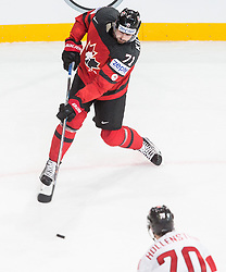 Alex Killorn of Canada during the 2017 IIHF Men's World Championship group B Ice hockey match between National Teams of Canada and Switzerland, on May 13, 2017 in AccorHotels Arena in Paris, France. Photo by Vid Ponikvar / Sportida