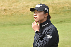 October 1, 2017 - Auckland, Auckland, New Zealand - New Zealand's Lydia Ko reacts during final round of the MCKAYSON New Zealand Women's Open at Windross Farm in Auckland, New Zealand on Oct1, 2017. Featuring World Number One Lydia Ko,The MCKAYSON New Zealand Women's Open is the first ever LPGA Tour event to be played in New Zealand. (Credit Image: © Shirley Kwok/Pacific Press via ZUMA Wire)