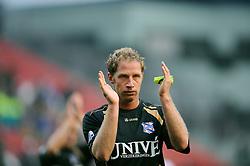 08-11-2009 VOETBAL: FC UTRECHT - HEERENVEEN: UTRECHT<br /> Utrecht verliest met 3-2 van Heerenveen / Michel  Breuer<br /> ©2009-WWW.FOTOHOOGENDOORN.NL