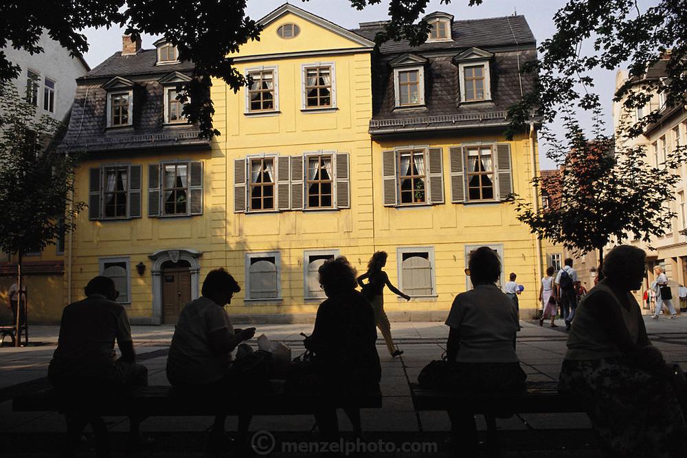 Weimar, East Germany.