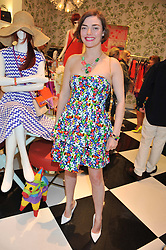 CAMILLA RUTHERFORD at the Kate Spade NY hosted Chelsea Flower Show Tea Party held at Kate Spade, 2 Symons Street, London on 23rd May 2013.