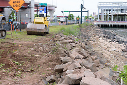 Boathouse at Canal Dock Phase II | State Project #92-570/92-674 Construction Progress Photo Documentation No. 11 on 23 May 2017. Image No. 04 Sidewalk Work