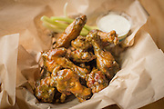 Jerk Sauce Wings from Fire in the Mountain on E. Burnside in Portland, Oregon.