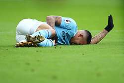 31 December 2017 -  Premier League - Crystal Palace v Manchester City - Gabriel Jesus of Manchester City reacts after injuring his knee - Photo: Marc Atkins/Offside