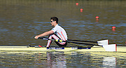 Caversham  Great Britain.<br /> Angus GROOM.<br /> 2016 GBR Rowing Team Olympic Trials GBR Rowing Training Centre, Nr Reading  England.<br /> <br /> Tuesday  22/03/2016 <br /> <br /> [Mandatory Credit; Peter Spurrier/Intersport-images]