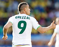 Fotball<br /> VM 2010<br /> Algerie v Slovenia<br /> 13.06.2010<br /> Foto: Gepa/Digitalsport<br /> NORWAY ONLY<br /> <br /> Bild zeigt Abdelkader Ghezzal (ALG)