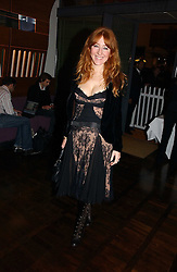 CHARLOTTE TILBURY at a party to celebrate the publication of 'The year of Eating Dangerously' by Tom Parker Bowles held at Kensington Place, 201 Kensington Church Street, London on 12th october 2006.<br /><br />NON EXCLUSIVE - WORLD RIGHTS