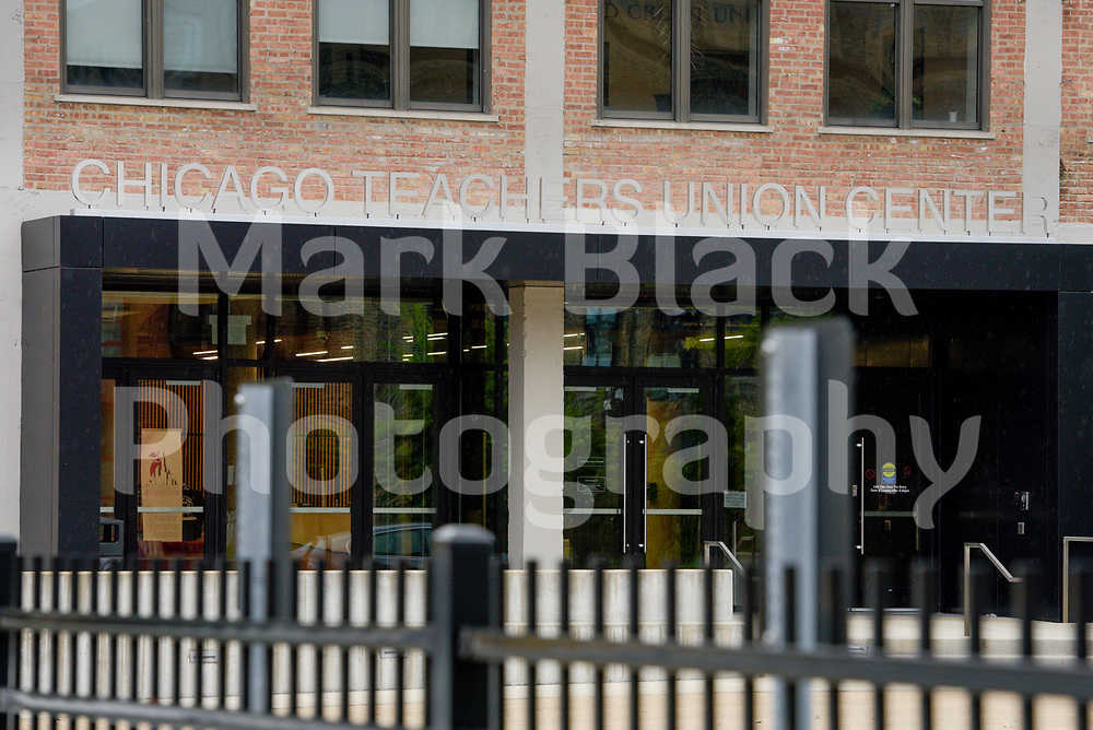 CTU (Chicago Teachers Union) Headquarters in Chicago on Tuesday, Sept. 1, 2020. Photo by Mark Black