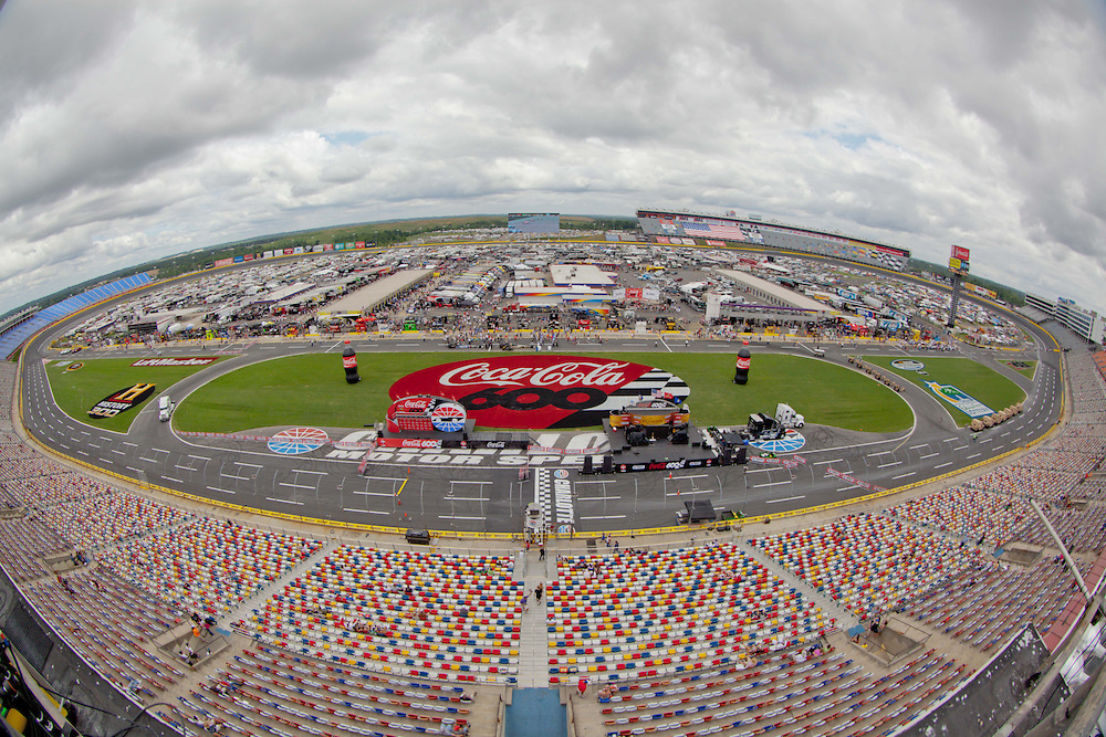 May 24, 2012; Concord, NC USA; General view of Charlotte Motor Speedway prior to the Coca-Cola 600 at Charlotte Motor Speedway. Photo by Kevin Liles/kevindliles.com