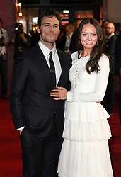Sam Claflin and Laura Haddock attending the world premiere of My Cousin Rachel, held at Picturehouse Central Cinema in Piccadilly, London. Photo Copyright should read Doug Peters/EMPICS Entertainment