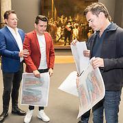 NLD/Amsterdam/20190507 - Toppers in het Rijksmuseum, Jan Smit,Gerard Joling,, Rene Froger en Jeroen van der Boom