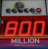 Powerball will hits record $800 million