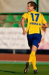 Aljaz Struna of Koper at football match of 16th Round of First Slovenian League between NK Olimpija and Luka Koper, on October 31, 2009, in ZAK, Ljubljana, Slovenia.  Koper won 1:0. (Photo by Vid Ponikvar / Sportida)