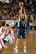 DESCRIZIONE : Biella Lega A1 2005-06 Play Off Quarti Finale Gara 4 Angelico Biella Climamio Fortitudo Bologna <br /> GIOCATORE : Bagaric<br /> SQUADRA : Climamio Fortitudo Bologna <br /> EVENTO : Campionato Lega A1 2005-2006 Play Off Quarti Finale Gara 4 <br /> GARA : Angelico Biella Climamio Fortitudo Bologna <br /> DATA : 26/05/2006 <br /> CATEGORIA : Tiro<br /> SPORT : Pallacanestro <br /> AUTORE : Agenzia Ciamillo-Castoria/E.Pozzo<br /> Galleria : Lega Basket A1 2005-2006 <br /> Fotonotizia : Biella Campionato Italiano Lega A1 2005-2006 Play Off Quarti Finale Gara 4 Angelico Biella Climamio Fortitudo Bologna <br /> Predefinita :