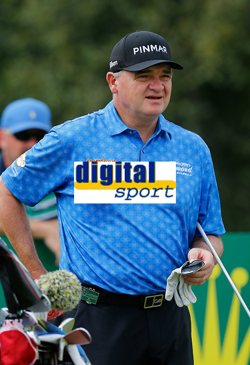 Golf - 2019 Senior Open Championship at Royal Lytham & St Annes - First Round <br /> <br /> Paul Lawrie (SCO) on the 2nd tee.<br /> <br /> COLORSPORT/ALAN MARTIN