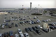 The car park of the Malpensa Airport.    Il parcheggio dell' Aeroporto di Malpensa