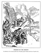 Freedom on the Heights [In admiration of the mountain guerilla army still fighting against Germany and Italy on Yugo-Slav soil.]