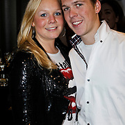 NLD/Amsterdam/20100310 - Presentatie van de 4de editie van het blad Helden, TiM Koeman en zus Debby Koeman