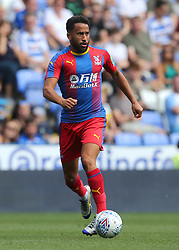 """Crystal Palaces Andros Townsend during the pre-season friendly match at the Madejski Stadium, Reading. PRESS ASSOCIATION Photo. Picture date: Saturday July 28, 2018. See PA story SOCCER Reading. Photo credit should read: Mark Kerton/PA Wire. RESTRICTIONS: EDITORIAL USE ONLY No use with unauthorised audio, video, data, fixture lists, club/league logos or """"live"""" services. Online in-match use limited to 75 images, no video emulation. No use in betting, games or single club/league/player publications."""