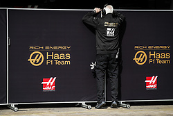 February 19, 2019 - Barcelona, Spain - Haas F1 Team, ambiance during Formula 1 winter tests from February 18 to 21, 2019 at Barcelona, Spain - : FIA Formula One World Championship 2019, Test in Barcelona, (Credit Image: © Hoch Zwei via ZUMA Wire)