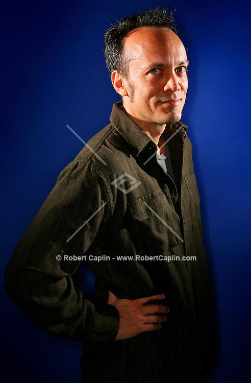 Chris Wink; of the original Blue Man Group.