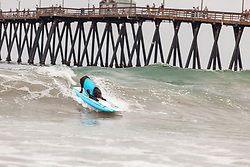 July 29, 2017 - Imperial Beach, CA, US - Surfdog returns to Imperial Beach for the twelfth  year...Kona gets ready to drops in. (Credit Image: © Daren Fentiman via ZUMA Wire)