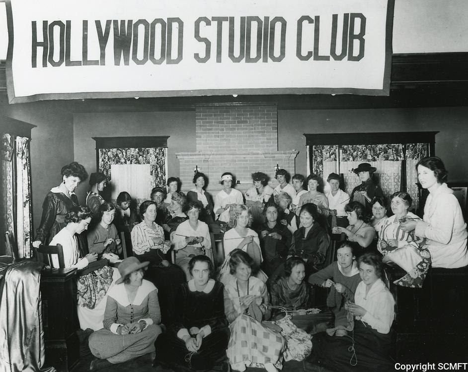 1923 Hollywood Studio Club Girls