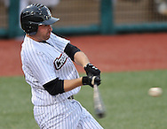 Dom Duggan hit a grand slam as the Lake Erie Crushers recorded another victory in June with a 5-0 win over Windy City in Frontier League action on June 21, 2010 at All Pro Freight Stadium.