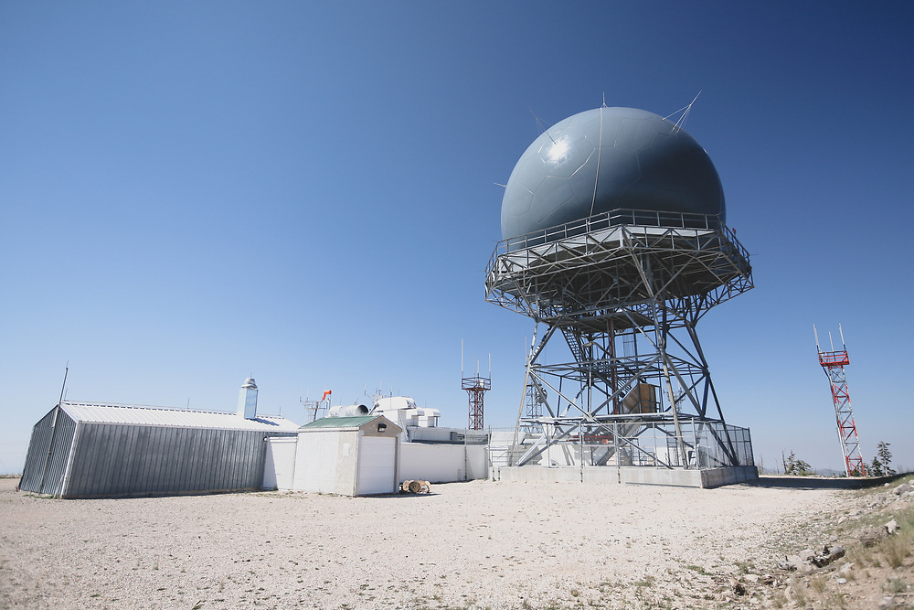 The Cedar City Long Range Radar site in Utah.