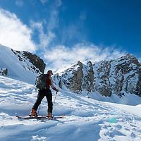 Backcountry Skiing and Splitboarding in Jasper, Alberta