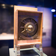 A model of the Antikythera Mechamism designed and constructed by Michael Wright (2009). One of the highlights of the National Archaeological Museum in Athens, Greece, the Antikythera Mechanism now has its own dedicated exhibit gallery in which all of its fragments are on display. Believed to date to somewhere around 100 BC to 205 BC, it was found amongst a large cache of statues, coins, and other artefacts on a sunken shipwreck discovered in 1900 by sponge divers off the coast of the Greek island of Antikythera. It was badly damaged after such a long time in the salt water, but extensive research in recent decades has resulted in a consensus that it is a kind of astronomical analog computer as well as some modern reconstructions.