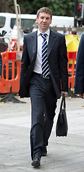 © London News Pictures. 26/09/2013 . London, UK. VLADIMIR ANTONOV arriving at Westminster Magistrates Court in London for the start of his full extradition hearing. Antonov, who is the former owner of Portsmouth Football Club, and his business partner Raimondas Baranauskas, are accused of asset stripping hundreds of millions of pounds from Snoras Bank. Photo credit : Ben Cawthra/LNP