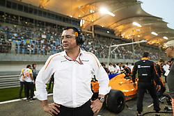 April 8, 2018 - Sakhir, Bahrain - BOULLIER Eric (fra), Racing Director of Mclaren F1, portrait during 2018 Formula 1 FIA world championship, Bahrain Grand Prix, (Credit Image: © Hoch Zwei via ZUMA Wire)