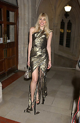 MEREDITH OSTROM at Andy & Patti Wong's annual Chinese New Year party, this year celebrating the year of the dog held at The Royal Courts of Justice, The Strand, London WC2 on 28th January 2006.<br />