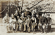 family group photo Japan 1930s