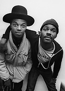The London Beat - 1981 Beat photosessions with The Beat.  Rankin Roger with Everett Morton