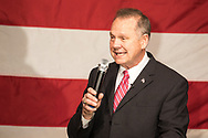 Roy Moore in Fairhope, Alabama on December 5, 2017 at a rally a week  before the  special election for a senate seat.