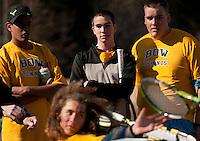 Bow High School boys varsity tennis versus Conant April 3 , 2012.